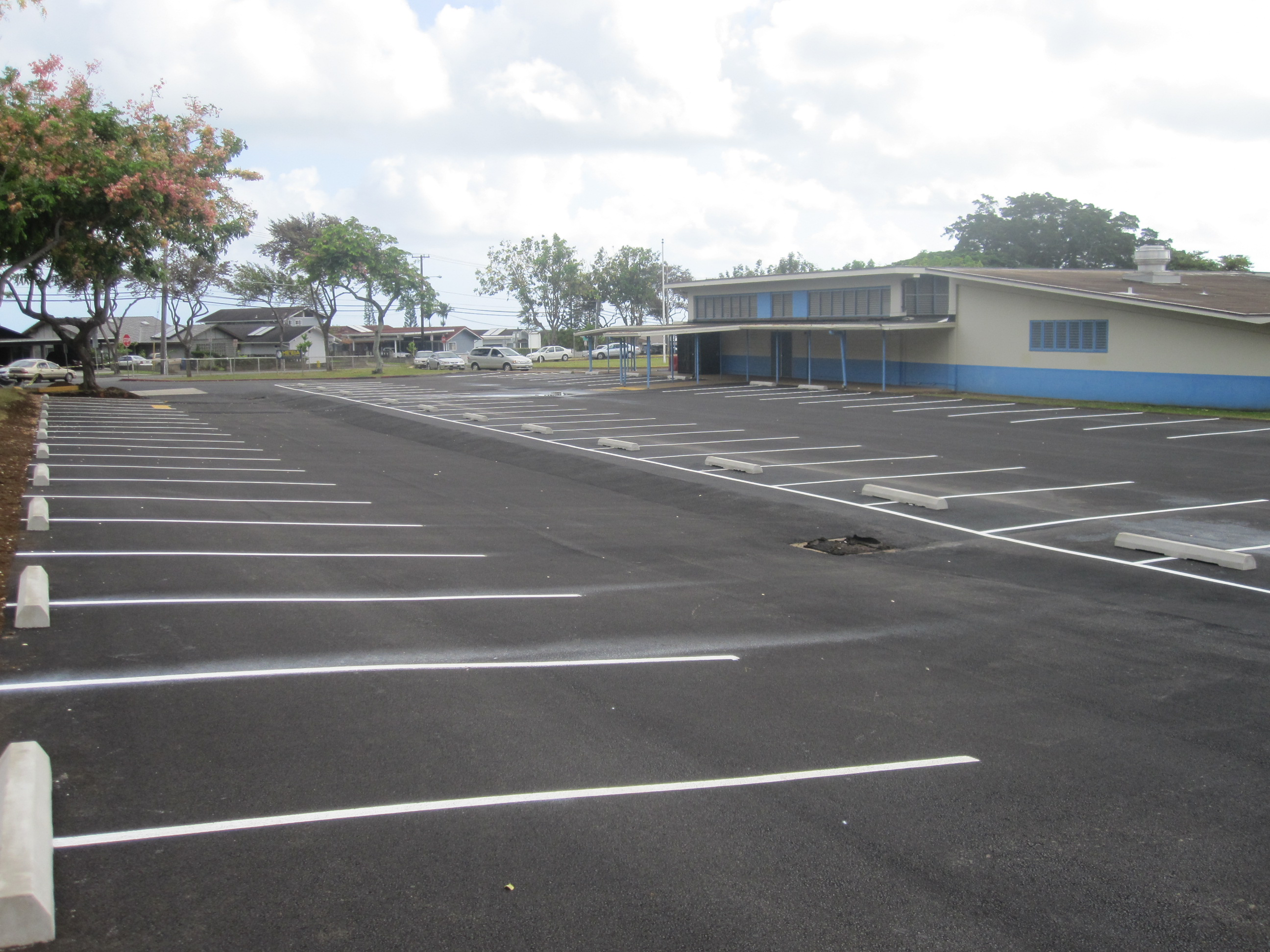Heeia Parking Lot & Drainage Overview