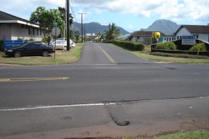 Ahukini Intersection