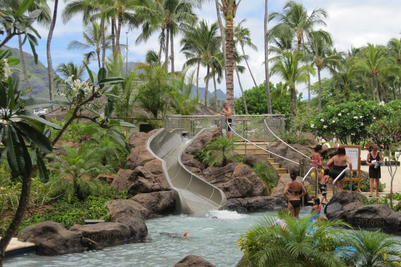 Kauai Marriott Renovation Pool