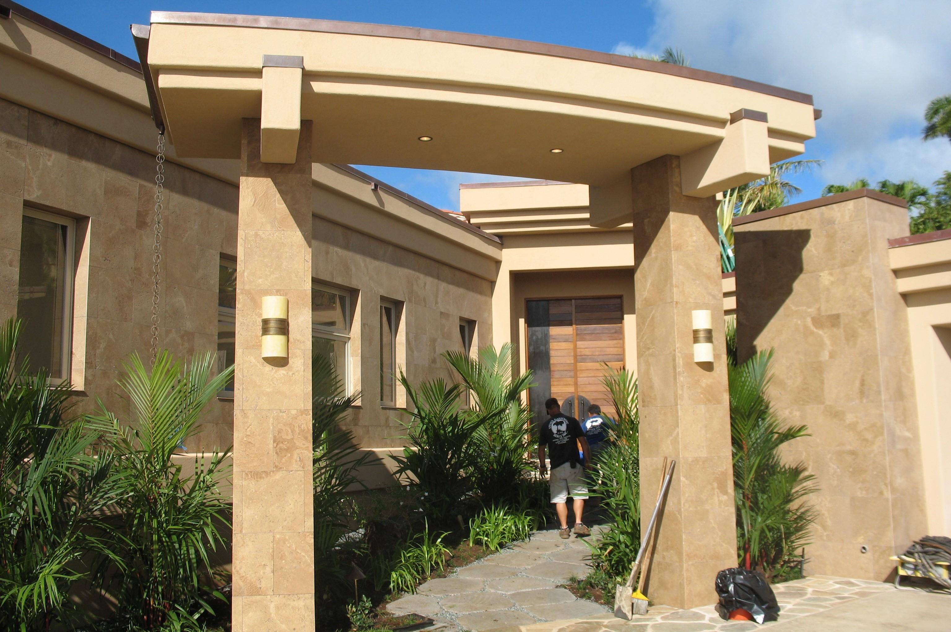 Moaniala Residence Entry