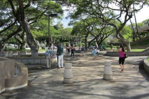 UH Manoa Walkways Master Plan
