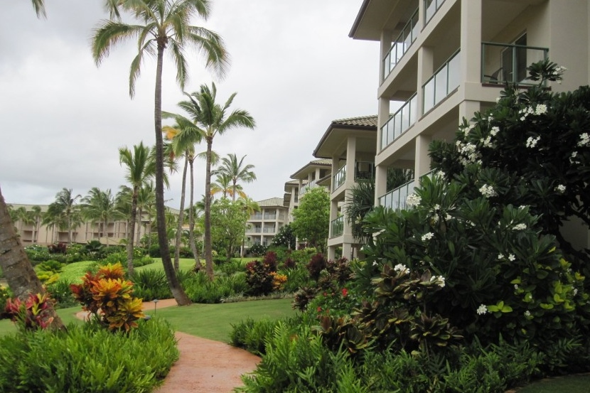Resort:  Kalanipu'u at Kauai Lagoons