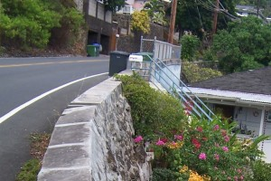 Pacific Heights Road Retaining Wall