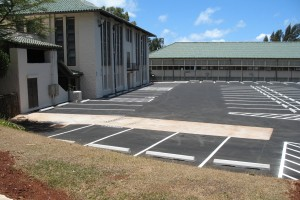 Kamehameha School Gym Parking Lot