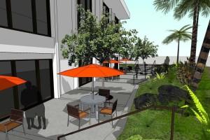 Waikiki Marriott Lower Plaza