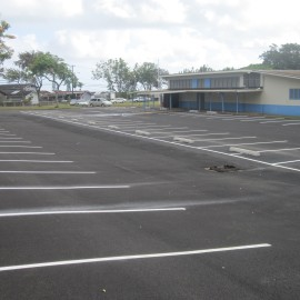 Heeia Elementary Parking Lot