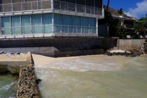 Kainalu Seawall Repairs